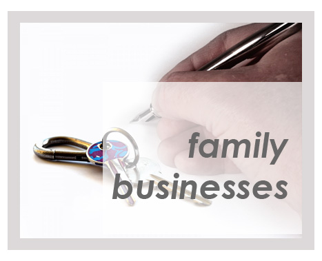 Small enterprises and family businesses